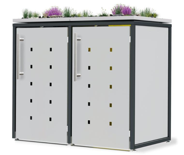 Mülltonnenbox anthrazit